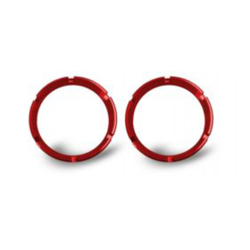 KC | FLEX SERIES RINGS (BEZELS) PAIR | RED
