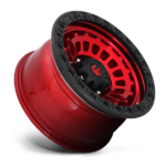 FUEL | ZEPHYR CANDY RED WITH MATTE BLACK RING | D632