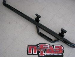 N-FAB | REGULAR CAB LENGTH TEXTURED BLACK | FOR GM/SILVER/SIERRA 1500/2500 (2007-2010)
