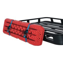 RHINO RACK | PIONEER RECOVERY TRACK SIDE BRACKET WITH STRAPS KIT