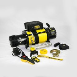 TJM | TORQ ELECTRIC 9,500 LBS WINCH | WITH SYNTHETIC ROPE
