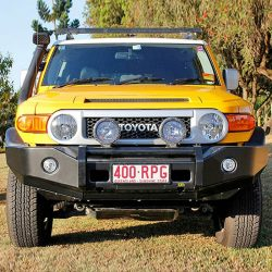 TJM PRODUCTS | TJM WINCH BAR FRONT BUMPER WITH OUT GUARD & LIGHTS | 2007+ FJ