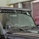 RIGID INDUSTRIES | WINDSHIELD MOUNT FOR 50″ LED BAR | 2007-2017 JK