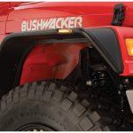 BUSHWACKER INC | 6.0 TIRE COVERAGE FLAT FENDER (SET OF 4) | 1997-2006 TJ