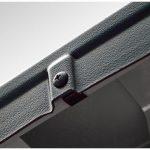 BUSHWACKER INC | STYLE ULTIMATE BEDRAIL CAP OE MATTE BLACK 78.7 IN. (MID SIZE BED) | 2007-2014 SILVERADO 1500 2500HD 3500HD