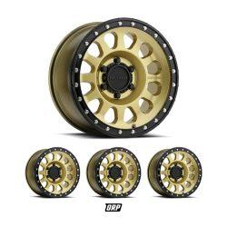 METHOD WHEELS | GOLD BLACK LIP (SET OF 4) | MR315 | 17×8.5 6×5.5 0MM OFFSET| Y61
