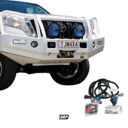 TJM   FRONT BUMPER WINCH COMPATIBLE WITH WIRING KIT   2014-2017 PRADO 150