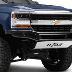N-FAB INC | M-RDS FRONT BUMPER WITH MULTI-MOUNT FOR LED LIGHTS | 2016-2018 CHEVY 1500