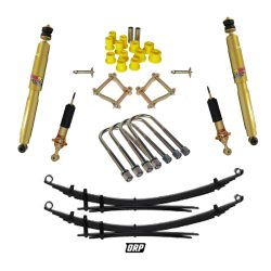 TJM   50MM COMPLETE KIT WITH REAR LEAFS WITHOUT FRONT SPRING   2005-2014 HILUX