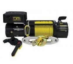 TJM | TORQ ELECTRIC WINCH W/ SYNTHETIC ROPE |  12,000 LBS