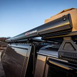ARB | BLACK ALUMINUM AWNING WITH LED LIGHT | 2.5MTR